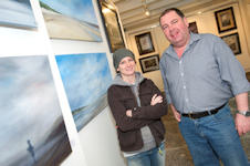Jane McDonough and Angus Mackay - Moments In Time Exhibition at Northlands