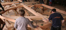 Log Building Course From Dunnet Forestry Trust