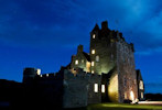 Ackergill Tower at night