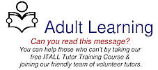 Adult Learning - Become A Tutor