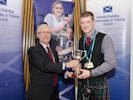 Alan Watt Presents Apprentice Award to Craig Harvey