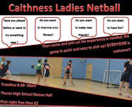 Caithness Ladies Netball
