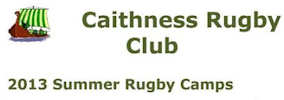Caithness Rugby Club Summer Camps 2013