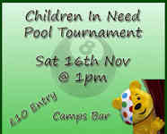 Pool Tournament For Children In Need