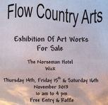 Flow Country Arts Sale