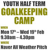 Goal Keeping Course February 2014 - Thurso