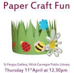 Paper Craft Fun 12.30pm