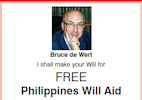 Free Wills to Aid Philippines