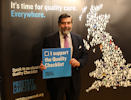 John Thurso Launches Prostate Cancer Check List