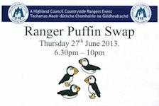 Puffin Swap - A Ranger Event