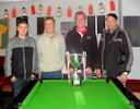 Queens 2 top in Wick and district summer Pool League
