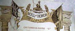 Roll of Hoour - Caithness-shire - First World War