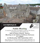 Public Meeting for Old St Peters Church