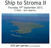 Stroma Trip 19th September 2013