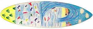 Surf Art Exhibition at St Fergus Gallery