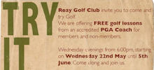Try Golf At Reay