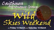 Wild Skies Weekend - Astronomy