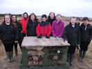 Wick High Pupils construct A Bug Hotel