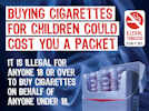 Don't buy cigarettes for children