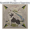 Scottish diaspora Tapestry Exhibition at Community Centre Helmsdale