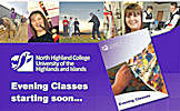 Evening Classes At North Highland College 2014