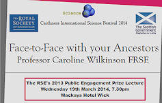 Face To Face With Your Ancestors - Caithness Science Festival 2014