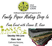 Family Paper Making Drop In