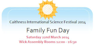 Family Fun Day Caithness Science Festival 2014