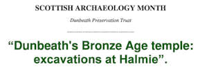 Dunbeaht Bronze Age Temple