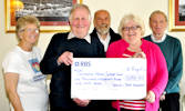 Canisbay Couple donate to Caithness Heart Support Group