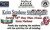Family Fun At Keiss Seashore Day