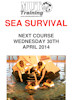 Sea Survial Traingin Course - By MUT, Wick April 2014