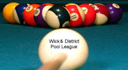 Wick and District Pool League week one 2014/15