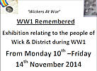 World War On Wick and District - An Exhibition