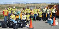 Beach Clean Dunnet - 18 April 2015