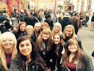North Highland college Beauty Students at the ExCel in London