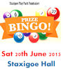 Bingo fundraiser for Staxigoe Play Park