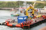Multicat vessel C-Chariot at Gills Harbour 18 September 2015