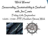 Seasonality, Sustainability and Seafood with Jim Cowie
