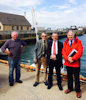 David Stewart MSP Visits Gills Harbour