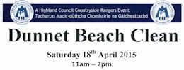 Dunnet Beach Clean 18th April 2015