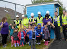 Students make contribution to gaelic playgroup