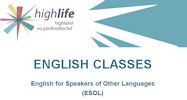 English classes at Wick