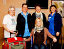 Heart Support Caithenss present equipment to GP's in Thurso