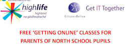 Online training for parents of North Scvhool parents in Wick