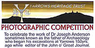 Photo compeitionj Yarrows Heritage Trust - Closing Date 31 July 2015