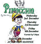 Pinocchio - Pantomime from Wick players -tickets go on sale