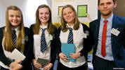 Wick High School Team with winning app