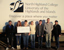 donation to Yorkhill by Persdonal Empowerment Students