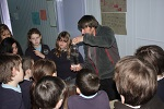 Bower Primary Kids with Ranger Andy Summers
